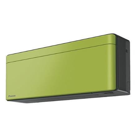 【最安値挑戦中!最大34倍】ルームエアコン ダイキン S25WTSXS-L SXシリーズ 単相100V 15A 冷暖房時8畳程度 受注生産パネル オリーブグリーン [♪§▲]