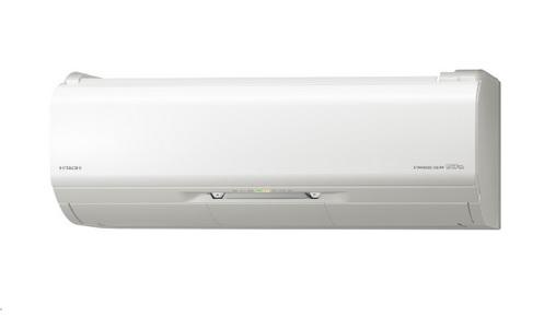 【最安値挑戦中!最大25倍】ルームエアコン 日立 RAS-ZJ25J(W) 壁掛形 ZJシリーズ 単相100V 15A 白くまくん 冷暖房時8畳程度 スターホワイト [♪]