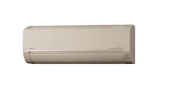 【まいどDIY】ルームエアコン 日立 RAS-BJ25J(C) 壁掛形 白くまくん BJシリーズ 単相100V 15A 冷暖房時8畳程度 シャインベージュ [♪]