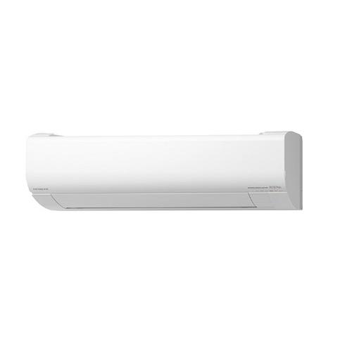 【まいどDIY】ルームエアコン 日立 RAS-V22K(W) 壁掛形 白くまくん Vシリーズ 単相100V 15A 冷暖房時6畳程度 スターホワイト [♪]