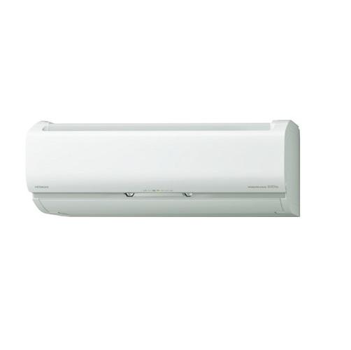 【最安値挑戦中!最大25倍】ルームエアコン 日立 RAS-VL63K2(W) 壁掛形 白くまくん Vシリーズ 単相200V 20A 冷暖房時20畳程度 スターホワイト [♪]