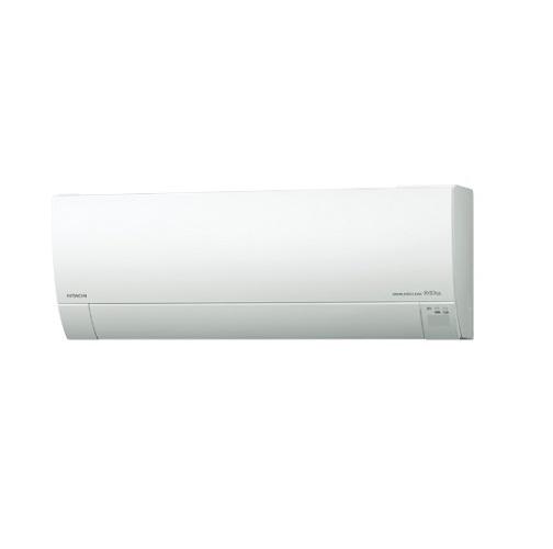 【まいどDIY】ルームエアコン 日立 RAS-MJ22K(W) 壁掛形 白くまくん MJシリーズ 単相100V 15A 冷暖房時6畳程度 スターホワイト [♪]