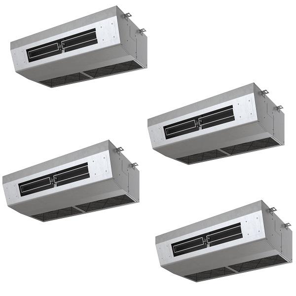 【最大44倍スーパーセール】業務用エアコン 日立 RPCK-AP335SHW8 同時 厨房用エアコン(てんつり) 同時フォー 省エネの達人 12.0馬力相当 三相200V [(^^)♪]