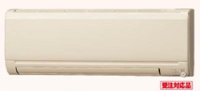 ルームエアコン 三菱 MSZ-KXV2818(T) KXVシリーズ 寒冷地 ズバ暖 霧ヶ峰 単相100V 20A 室内電源 10畳 ブラウン ※受注生産品[§■]
