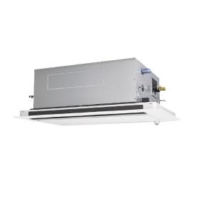 【最安値挑戦中!最大25倍】業務用エアコン 三菱 PLZ-ZRMP160LV 2方向天井カセット形 6馬力 三相200V  標準パネル [♪$]
