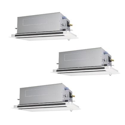 【最大44倍お買い物マラソン】業務用エアコン 三菱 PLZT-ZRMP160LFV 2方向天井カセット形 6馬力 三相200V ムーブアイ [♪$]