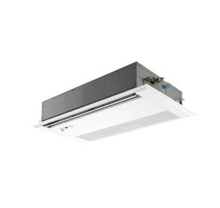 【最安値挑戦中!最大25倍】業務用エアコン 三菱 PMZ-ERMP40SFV 1方向天井カセット形 1.5馬力 単相200V 標準パネル ワイヤード [♪$]