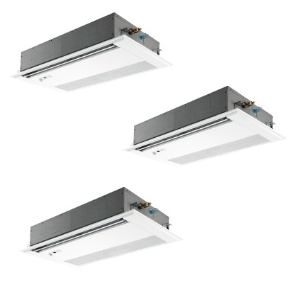 【最安値挑戦中!最大25倍】業務用エアコン 三菱 PMZT-ERMP160FW 1方向天井カセット形 コンパクトタイプ 6馬力 三相200V 標準パネル ワイヤード [♪$]