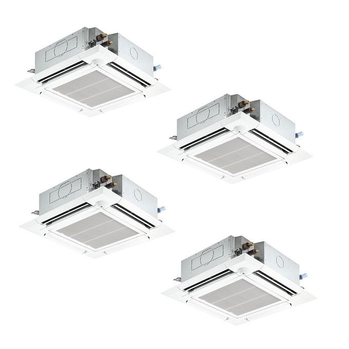 最安値挑戦中 最大25倍 業務用エアコン 三菱 PLZD-ZRP224ELFY 4方向天井カセット 同時フォー 8馬力 三相200V スリムZR 人感ムーブアイ ワイヤレス