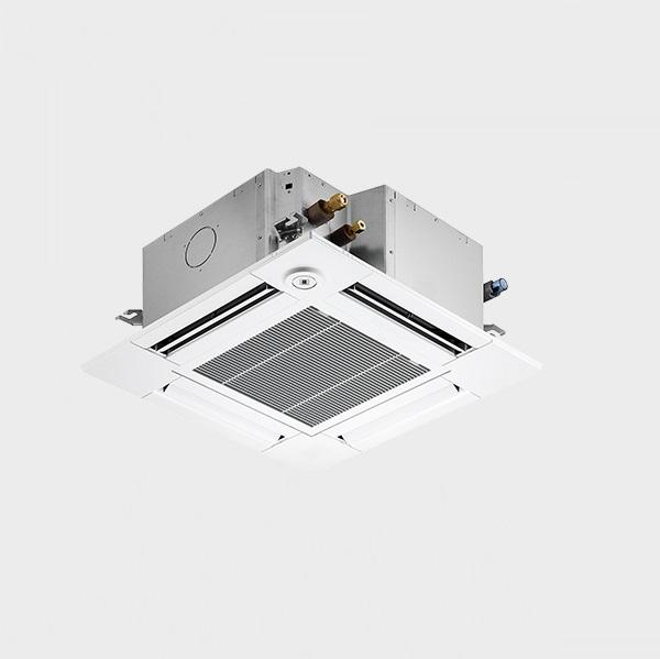 【最大44倍スーパーセール】業務用エアコン 三菱 PLZ-ZRMP40SGFY 4方向天井カセット コンパクトタイプ 標準シングル 1.5馬力 単相200V スリムZR 人感ムーブアイ ワイヤード [♪(^^)]