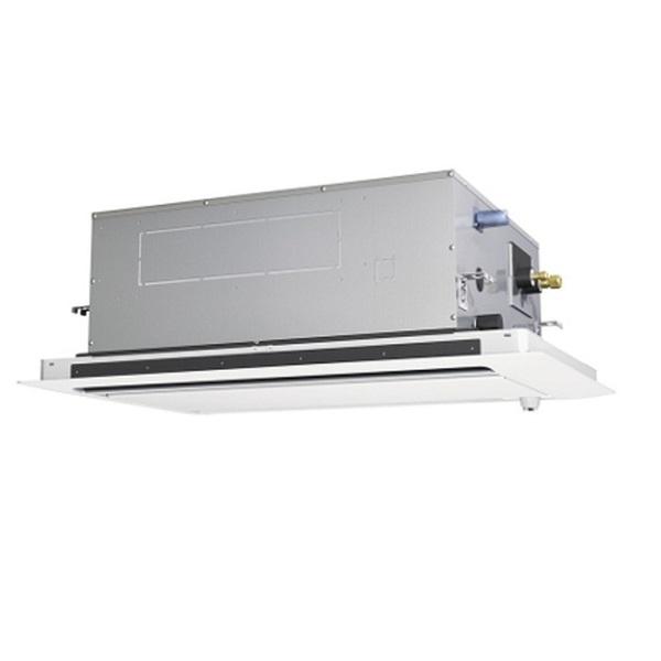 【最大44倍スーパーセール】業務用エアコン 三菱 PLZ-ERMP50SLY 2方向天井カセット形 標準シングル 2馬力 単相200V スリムER 標準パネル [♪(^^)]