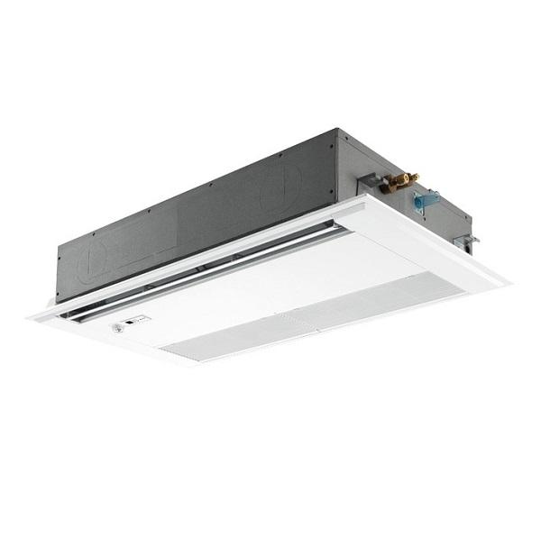 【最大44倍スーパーセール】業務用エアコン 三菱 PMZ-ERMP45SFY 1方向天井カセット形 標準シングル 1.8馬力 単相200V スリムER 標準パネル [♪(^^)]