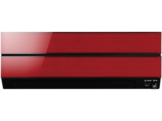 【最安値挑戦中!最大23倍】ルームエアコン 三菱 MSZ-AXV2518-R 霧ヶ峰 AXVシリーズ 単相 100V 15A 8畳程度 ボルドーレッド [■]