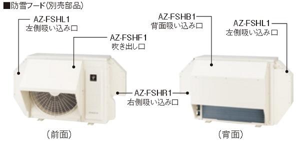 【最安値挑戦中!最大34倍】ルームエアコン シャープ AZ-FSHL1 部材 左側吸い込み口 [(^^)]