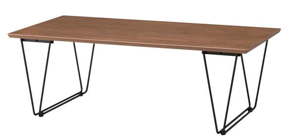 【最安値挑戦中!最大34倍】東谷 END-221BR アーロン コーヒーテーブル W110×D55×H38 [♪]