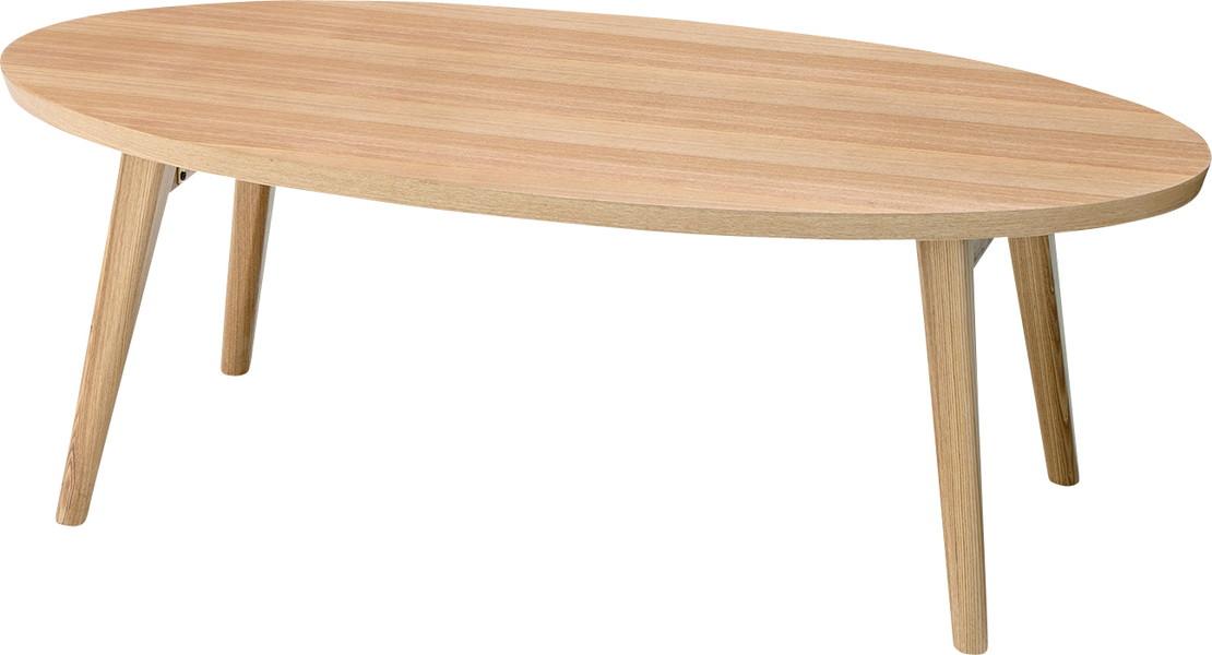 【最安値挑戦中!最大25倍】東谷 HOT-543NA クレラ フォールディングテーブル W105×D50×H35 [♪]