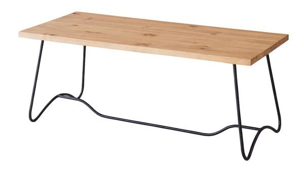 【最安値挑戦中!最大34倍】東谷 NW-111MBR コーヒーテーブル W100×D45×H40 [♪]