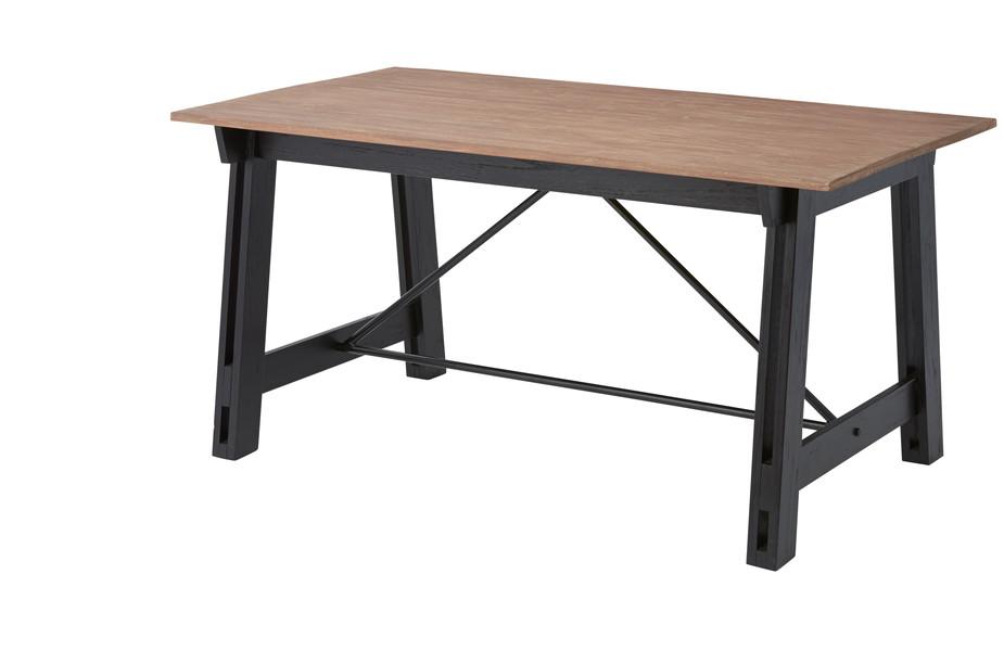 【最安値挑戦中!最大34倍】東谷 NW-853T ダイニングテーブル W150×D80×H72 [♪]