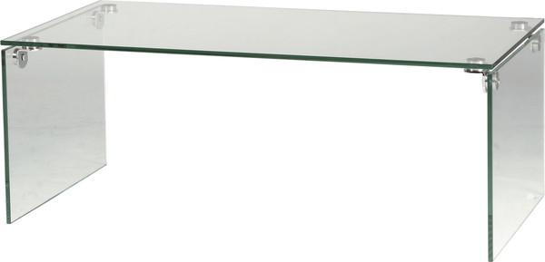 【最安値挑戦中!最大34倍】東谷 PT-26 ガラステーブル W100×D50×H38.5 [♪]