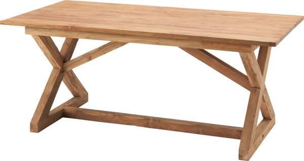 【最安値挑戦中!最大34倍】東谷 TTF-145 ビビア ダイニングテーブル W150×D80×H72 [♪]