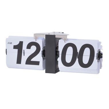 【最安値挑戦中!最大25倍】東谷 CLK-118WH フリップクロック W36×D8.5×H14 [♪]