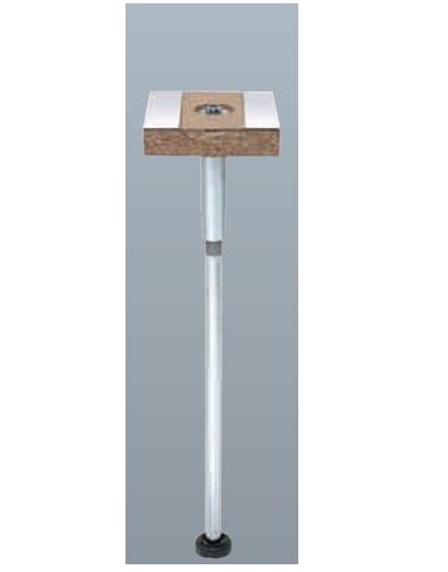 【最安値挑戦中!最大23倍】万協フロアー 戸建てシステム・スラブロックパーツ WP-410L45 50個入 WP-L型支持脚 適応床高375~462mm [△]