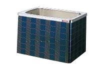【最安値挑戦中!最大25倍】クリナップ 浴槽 SXR-92AW(R・L) レッド(R) マルチカラー・ステンレス浴槽 間口90cm 据置式2方全エプロン [♪△]
