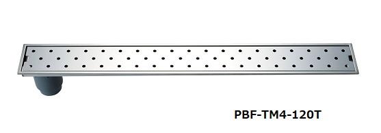 【最安値挑戦中!最大34倍】浴室排水ユニット INAX PBF-TM4-120Y トラップ付排水ユニット(目皿、施工枠付) 非防水層タイプ 横引きトラップ [□]