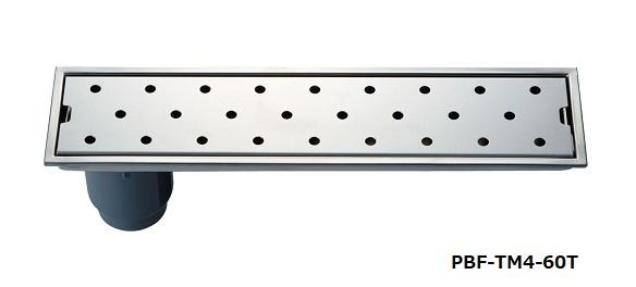 【最安値挑戦中!最大25倍】浴室排水ユニット INAX PBF-TM4-75T トラップ付排水ユニット(目皿、施工枠付) 非防水層タイプ 縦引きトラップ [□]