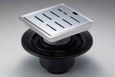 【最安値挑戦中!最大34倍】浴室排水ユニット TOTO YTB800DBS ステンレス 防水層タイプ 縦引きトラップ 200角タイル用 [■]