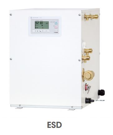 【最安値挑戦中!最大24倍】小型電気温水器 イトミック ESD12C(R/L)X215C0 ESDシリーズ 単相200V 1.5kW 貯湯量12L 密閉式 操作部C [■§]