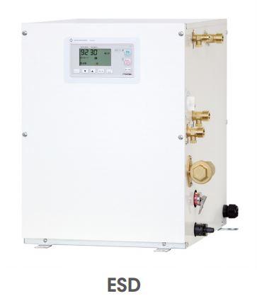 【最安値挑戦中!最大34倍】小型電気温水器 イトミック ESD25B(R/L)X111C0 ESDシリーズ 単相100V 1.1kW 貯湯量25L 密閉式 操作部B [■§]