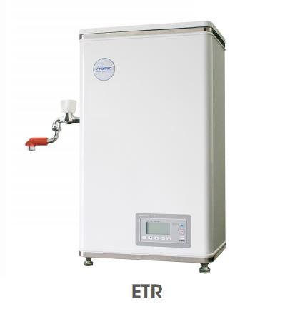 【最安値挑戦中!最大25倍】小型電気温水器 イトミック ETR12BJF207B0 ETRシリーズ 単相200V 0.75kW 貯湯量12L 開放式 蛇口向き正面 [■§]