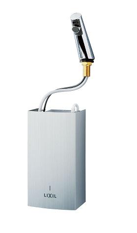 【最安値挑戦中!最大25倍】ゆプラス INAX EAAM-200EV1 住宅向け 加温自動水栓 瞬間加温機能付 100Vタイプ 飲用可 排水栓あり [□]