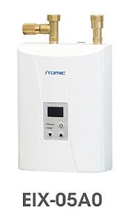 【最安値挑戦中!最大34倍】小型電気温水器 イトミック EIX-05A0 最高沸上温度約45℃ 単相200V 5.0kW 瞬間式 号数換算2.9 [■§]