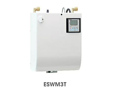 【最安値挑戦中!最大25倍】小型電気温水器 イトミック ESWM3TFG206B0 単相200V 0.6kW 貯湯量3L 元止め タイマー付 [■§]