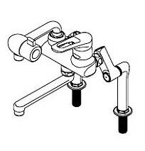 【最安値挑戦中!最大25倍】ワンレバー式混合水栓 イトミック MZ-3N3PE まぜまぜP MZ-N3Pシリーズ ESD/ES-DWUBシリーズ専用 立ち上がり配管 節湯対応型 受注生産品 [▲§]