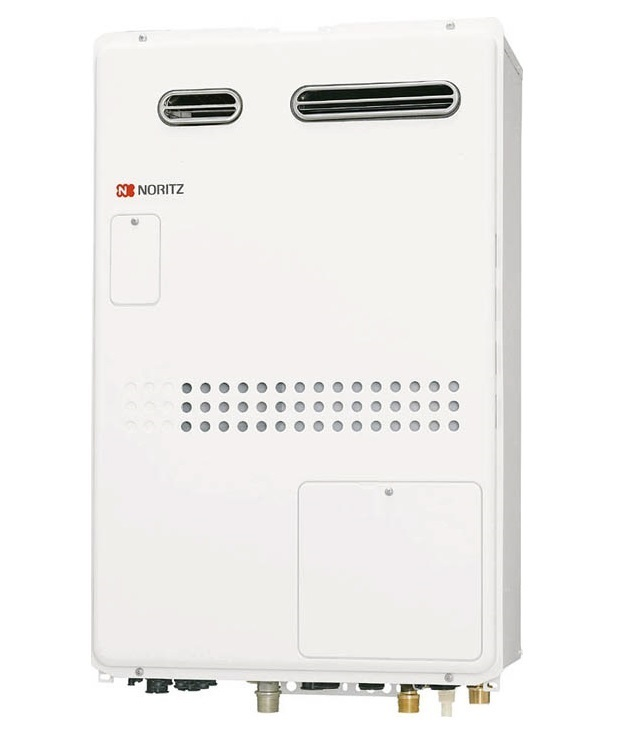 【最安値挑戦中!最大25倍】ガス温水暖房付ふろ給湯器 ノーリツ GTH-2444SAWX3H-1BL リモコン別売 オート 2温度3P内蔵 屋外壁掛形(PS標準設置形)[♪◎]