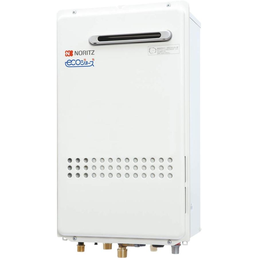 【最安値挑戦中!最大25倍】ガス給湯器 ノーリツ GQ-C1634AWX-DX-BL リモコン別売 高温水供給方式 ユコアGQ-C AW クイックオート 屋外壁掛形(PS標準設置形)16号 [♪◎]