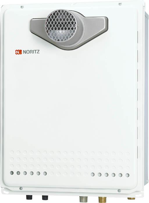 【最安値挑戦中!最大24倍】ガスふろ給湯器 ノーリツ GT-2460AWX-T BL リモコン別売 設置フリー形 スタンダード(フルオート) PS扉内設置形 24号 [♪◎]