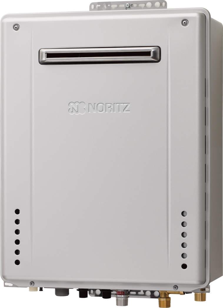 【最安値挑戦中!最大25倍】ガスふろ給湯器 ノーリツ GT-C1662SAWX-PS BL リモコン別売 設置フリー形 シンプル(オート) PS標準設置形 16号 [♪■]
