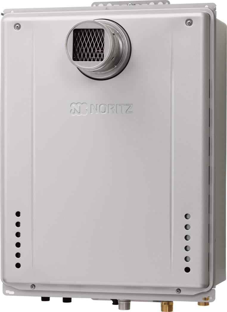 【最安値挑戦中!最大25倍】ガスふろ給湯器 ノーリツ GT-C1662SAWX-T BL リモコン別売 設置フリー形 シンプル(オート) PS扉内設置形 16号 [♪■]