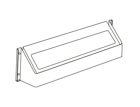【最大44倍スーパーセール】給湯器部材 パロマ 【HU-1902】(59468) 上方排気カバー