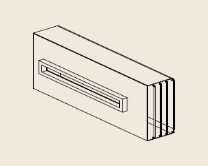【最安値挑戦中!最大25倍】給湯器部材 パロマ 【ATEW-4】(52651) オプション部品 側方排気カバー