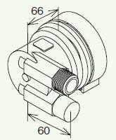 【最安値挑戦中!最大23倍】給湯器部材 パロマ 【BMZAWS-L1】(50311) 循環金具(バスアダプター)高温水供給タイプ用 ネジ接続タイプ(安全装置付き) L型