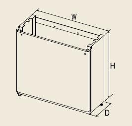 【最安値挑戦中!最大23倍】給湯器部材 パロマ 【SDAWAD-4】(58311) オプション部品 据置き台