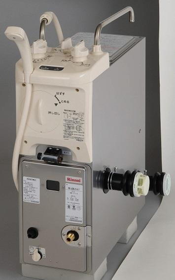 【最安値挑戦中!最大25倍】ガスふろがま リンナイ RBF-ASBKD 一般地用 前面給水(FX) BF式 6.5号 ダクト設置用 ガス接続口ストレート(T) ※受注生産品 [≦§]