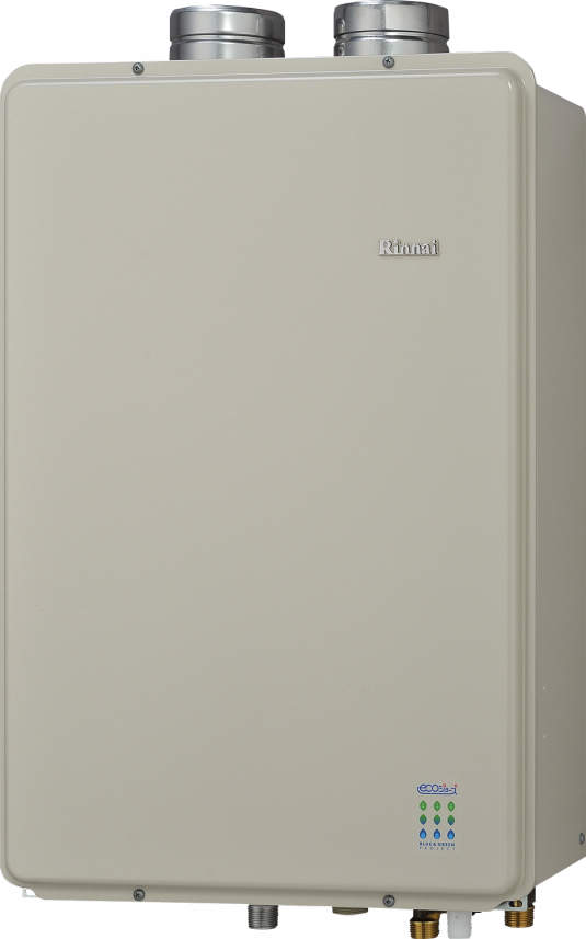 【最安値挑戦中!最大34倍】ガス給湯器 リンナイ RUF-E1601AFF 設置フリータイプ エコジョーズ ユッコUF 16号 フルオート FF方式 屋内壁掛型 20A [≦]