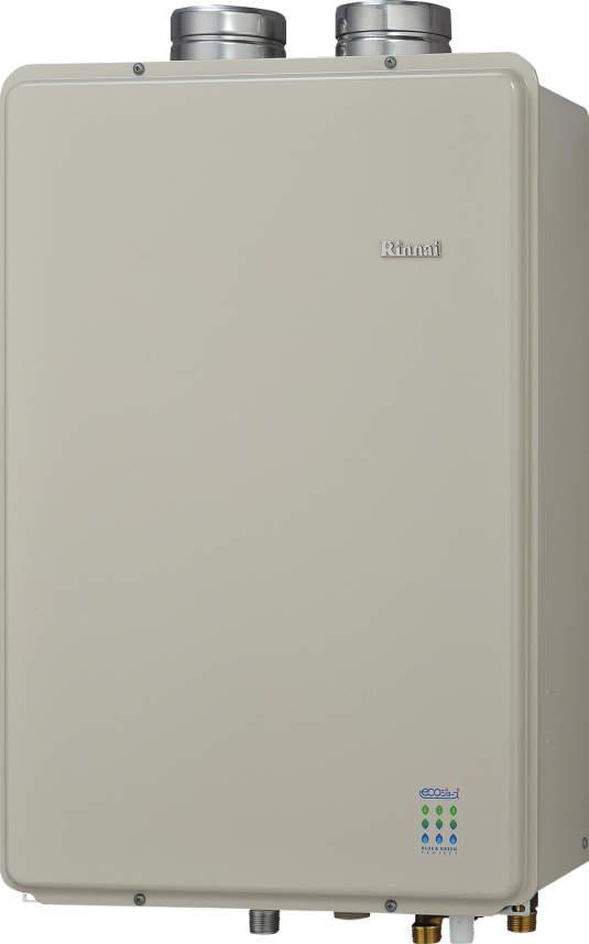 【最安値挑戦中!最大23倍】ガス給湯器 リンナイ RUF-E1611AFF 設置フリータイプ エコジョーズ ユッコUF 16号 フルオート FF方式 屋内壁掛型 15A [≦]