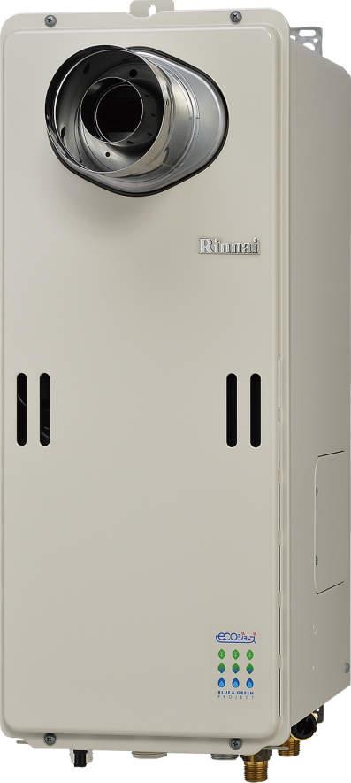 【最安値挑戦中!最大34倍】ガス給湯器 リンナイ RUF-SE1610AT-L 設置フリータイプ エコジョーズ ユッコUF 16号 フルオート (PS扉内/PS延長前排気)設置型 15A [≦]